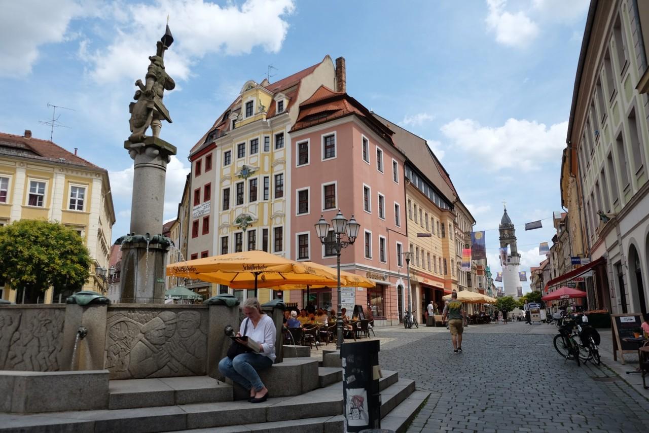Bautzen - am Rathaus